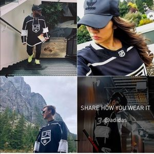 LA Kings Adidas Hockey Jersey
